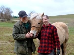 Gary and I meet Konall.